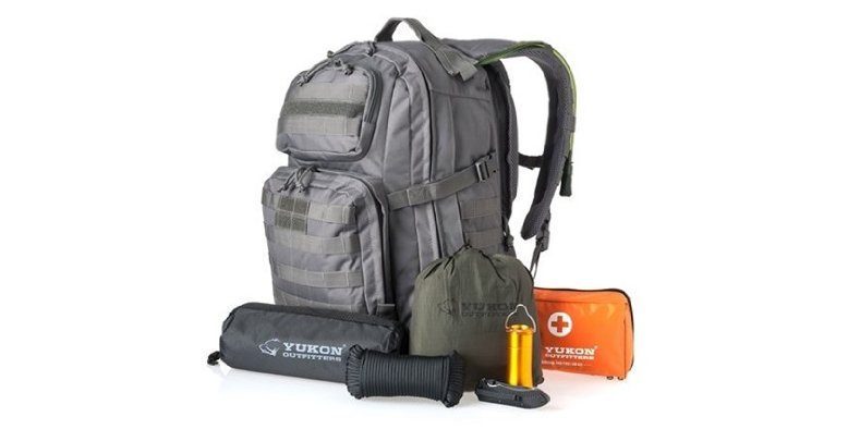 Yukon Outfitters 58-Piece Survival Kit $99.99