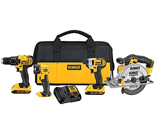 TODAY ONLY: 68% Off Dewalt 4-Tool Combo Kit ($249)