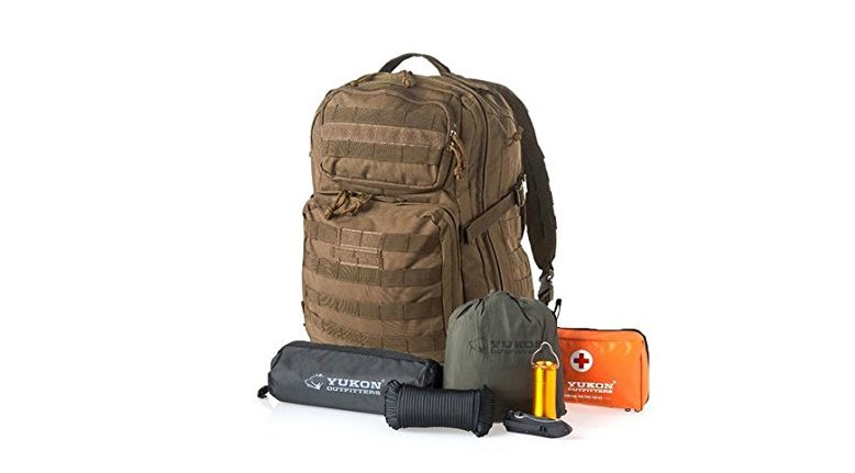 Yukon Outfitters 58-Piece Survival Kit