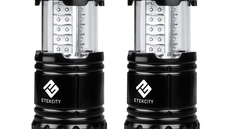 Etekcity 2 Pack Portable Outdoor LED Camping Lantern Flashlights