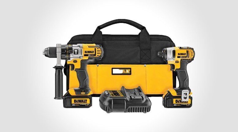 DeWALT 20V MAX Lithium-Ion Hammerdrill Kit  $194.99