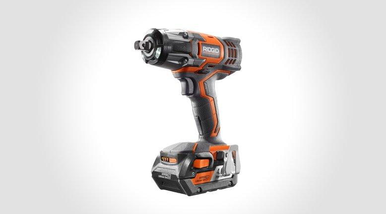 RIGID 18-Volt 1/2-inch High Impact Wrench Kit $139