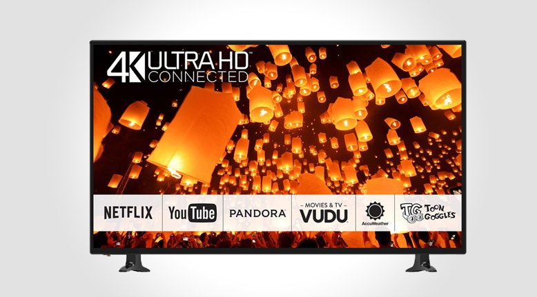 50 Inch Panasonic 4k Smart LED HDTV $499.99