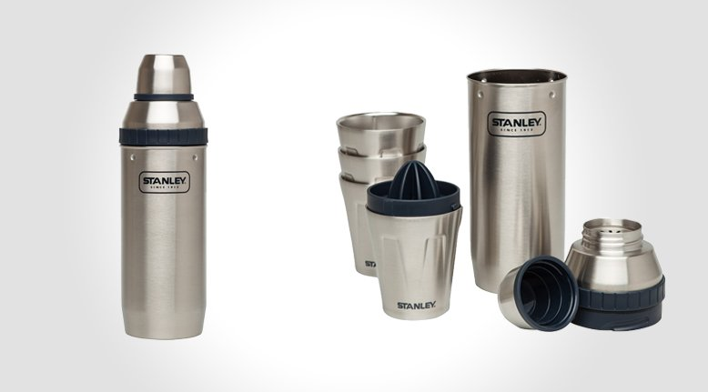 Stanley Happy Hour Shaker (with Four Cups)