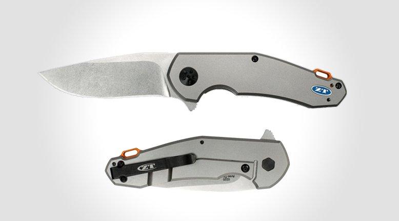 Jens Anso Titanium Flipper Knife