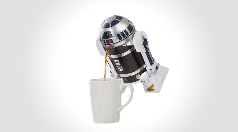 R2 D2 French Press Coffee Maker Gentlemint Reserve