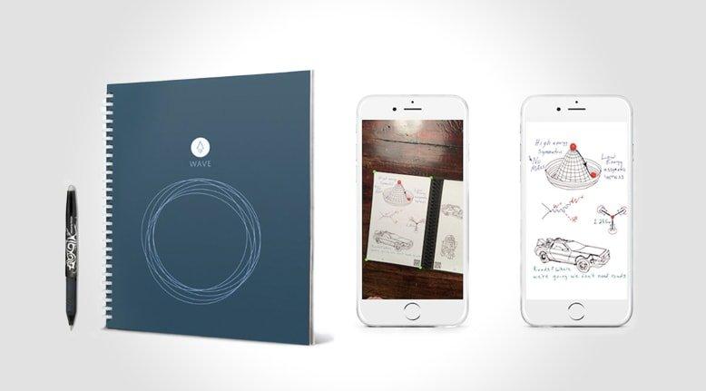 Microwaveable Smart Notebook