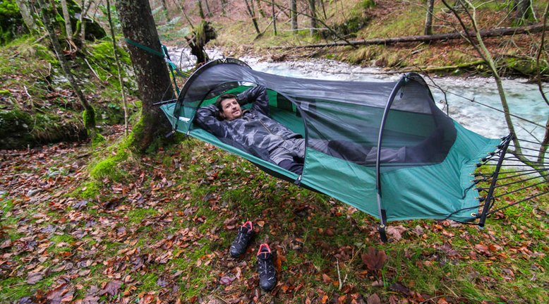 Award-Winning Hybrid Hammock and Tent