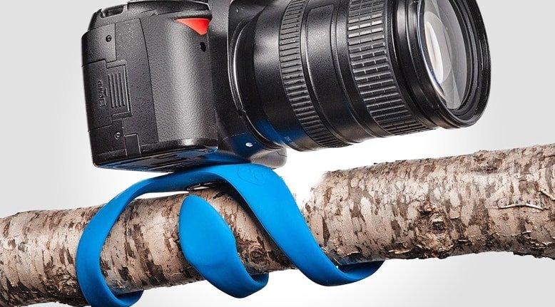 Flexible Mini Camera Tripod Gets The Perfect Shot