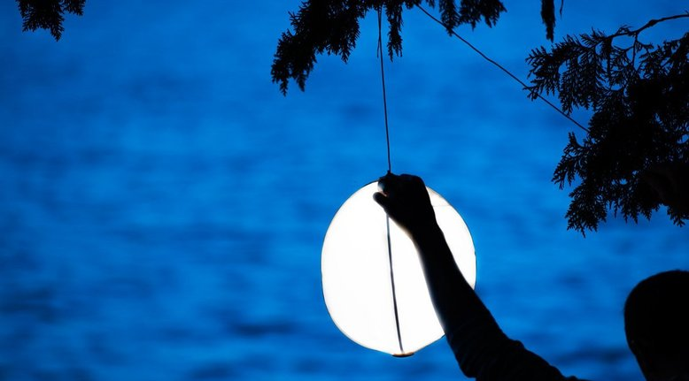 Outdoor Dimmable Moon Lighting