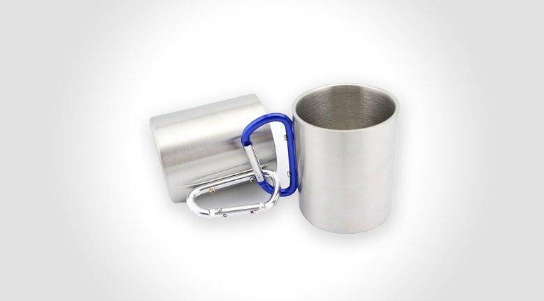 Carabiner Steel Mug
