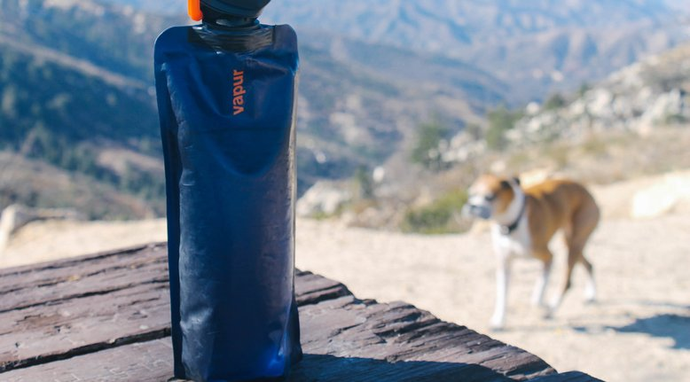 Foldable, Durable Water Bottle