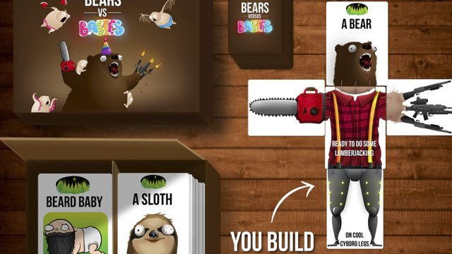 Bears vs. Babies Board Game