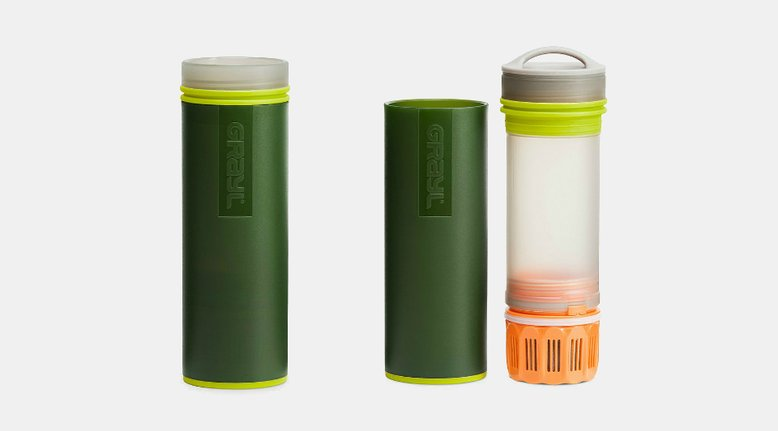 Grayl Ultralight Purifier: Purifying Water in 15 Seconds