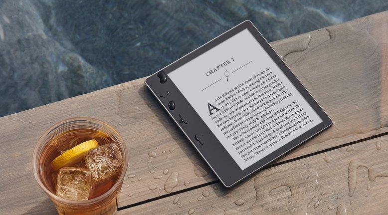 Kindle Oasis: Waterproof and Glare Proof