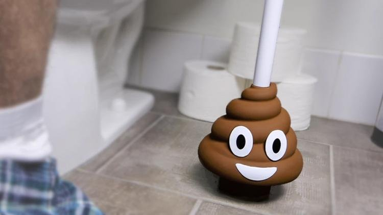 Emoji Poo Plunger