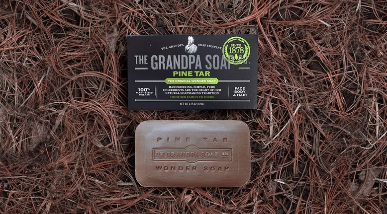 Pine Tar Soap Your Grandpa Would Use