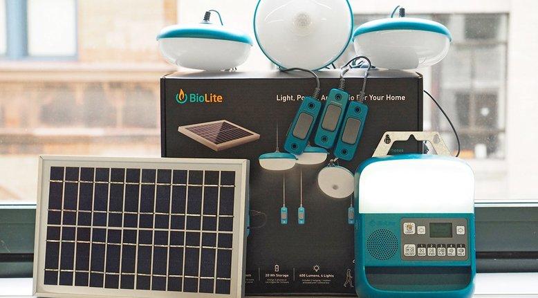 BioLite Portable Home Solar System