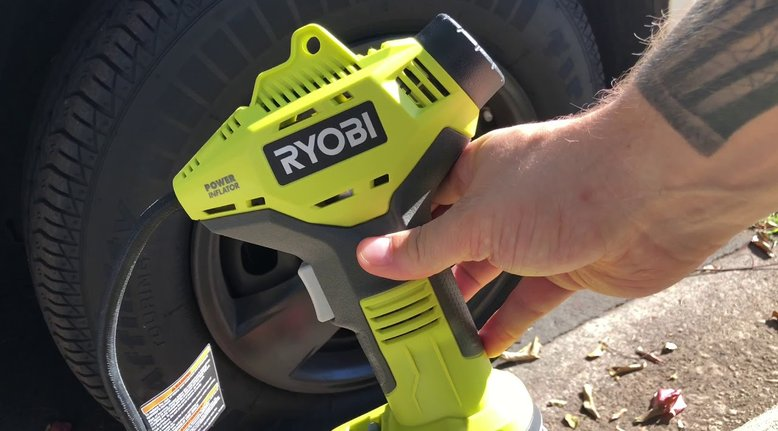 Ryobi Cordless Tire Inflator