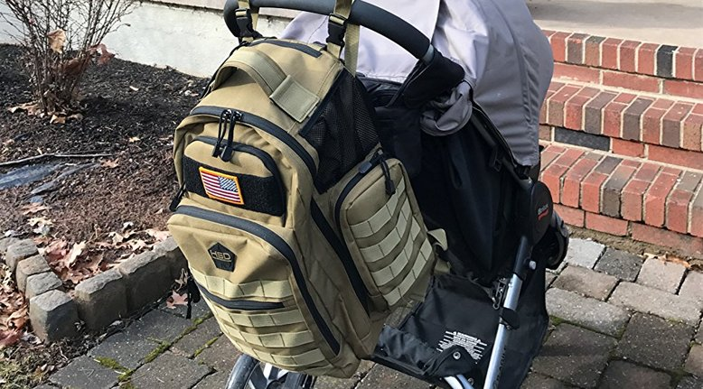 HSD Tactical Diaper Bag