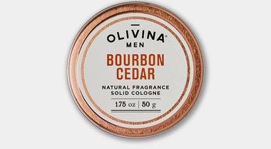 Bourbon Cedar Solid Cologne