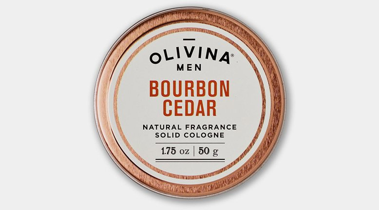 Bourbon Cedar Solid Cologne