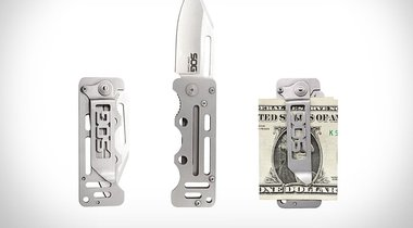 Money Clip Pocket Knife
