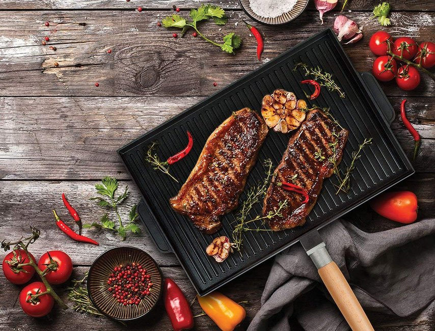 Masterpan Double Sided Grill Griddle Gentlemint Reserve
