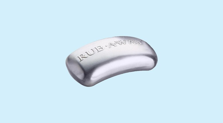 Rub-a-Way Bar: Odor Absorbing Steel Soap