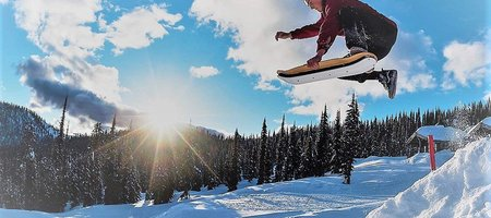 Slopedeck: Snow Skateboard