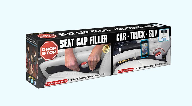 Drop Stop: Car Seat Gap Filler