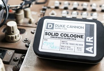 Duke Cannon Solid Cologne - Smell Like the Outdoors (In a Good Way)