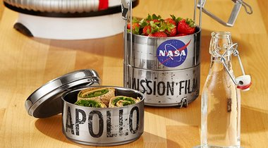 Apollo 11 Lunch Canister