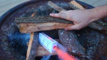 Pull String Fire Starter