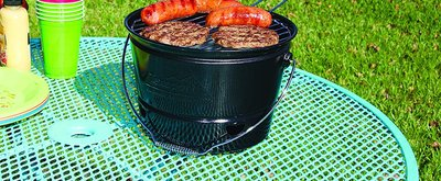 Grill in a Bucket